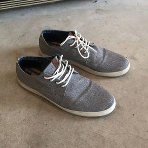 Ben Sherman canvas sneakers 11.5 grey